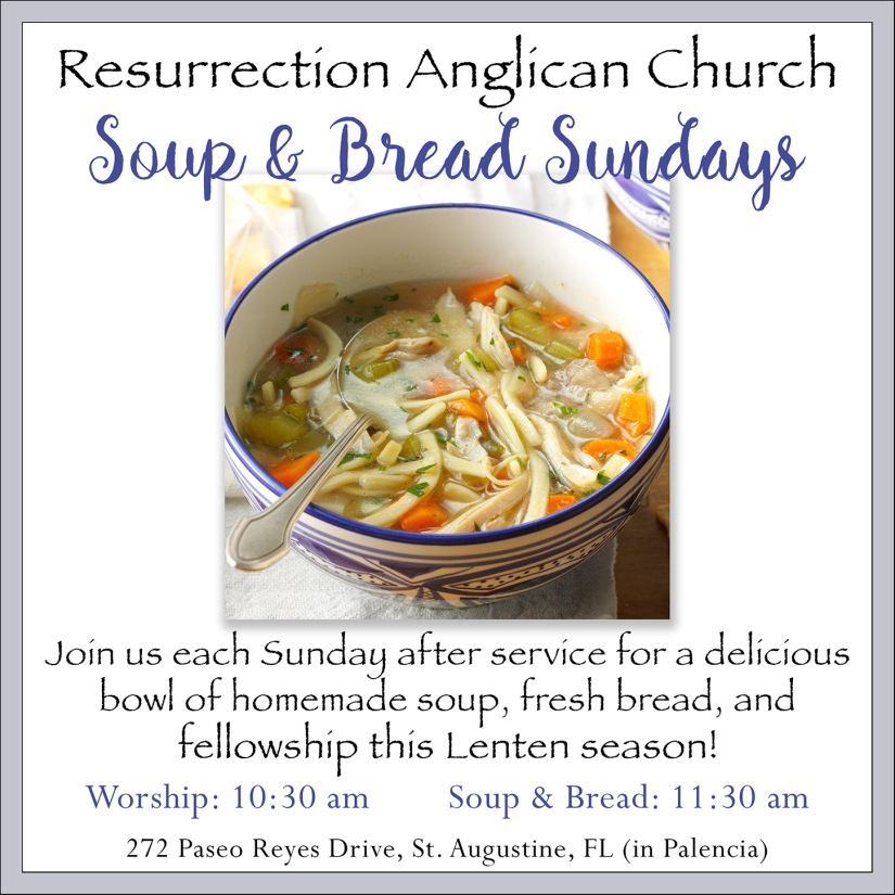 Soup & Supper Sundays 1