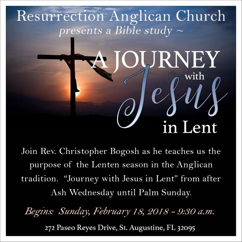 Journey with Jesus Class 2018 fb
